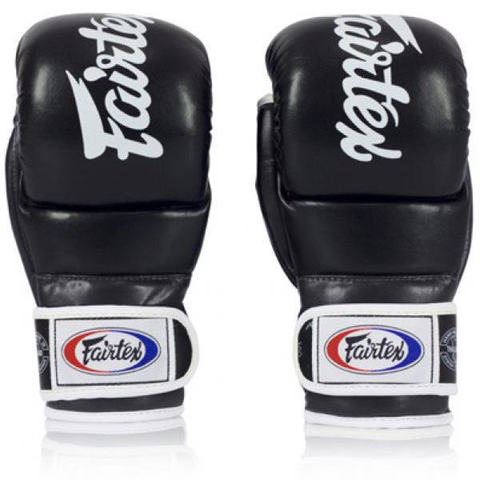 Перчатки MMA Fairtex FGV18 Hybrid Super Sparring Black