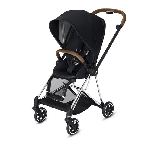 Прогулочная коляска  Cybex Mios Premium Black chrome