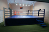Ринг боксерский на помосте, разборный, помост 7.5х7.5м, высота 0.5м, боевая зона 6х6м.