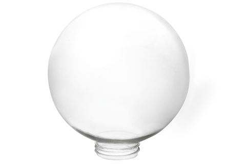 Рассеиватель шар ПММА 200 мм прозрачный (резьба А 85) TDM