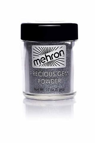 MEHRON Сияющие пигменты Celebré Precious Gems, Black Onyx (Черный оникс), 5 г
