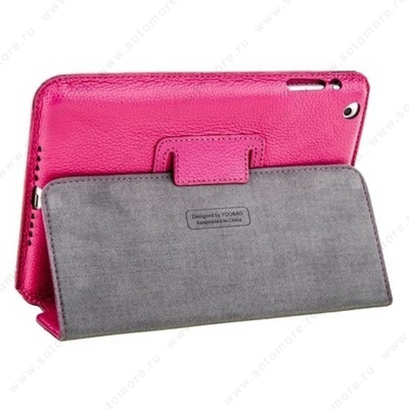 Чехол-книжка Yoobao для Apple iPad Mini 3/ 2/ 1 - - Yoobao Executive Leather Case Rose