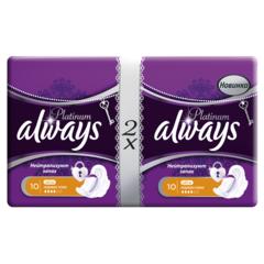"Прокладки ""Always"" Ultra Platinum Normal Plus 16шт"