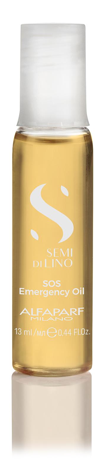 New Масло, восстанавливающее структуру волос SDL RECONSTRUCTION SOS EMERGENCY OIL, 6 АМПУЛ ПО 13 МЛ ALFAPARF 16413