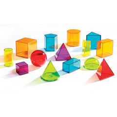 Набор объемных геометрических фигур, Learning Resources