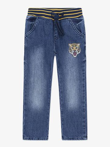 BJN005867 джинсы для мальчиков, медиум-дарк