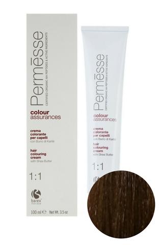 Крем-краска для волос 6.73 Блондин темный тропический Permesse, Barex
