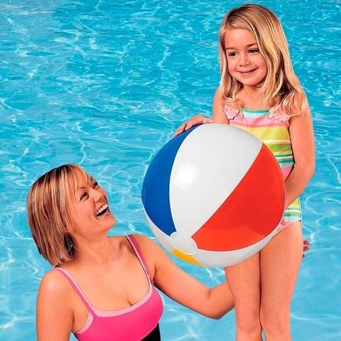 Пляжный Надувной мяч 50см.