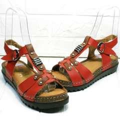 Женские сандали босоножки кожаные Rifellini Rovigo 375-1161 Rad.