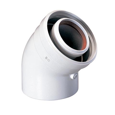 Отвод 45° Ду110/150 мм (для Ariston Genus Premium Evo HP 85-150 кВт)