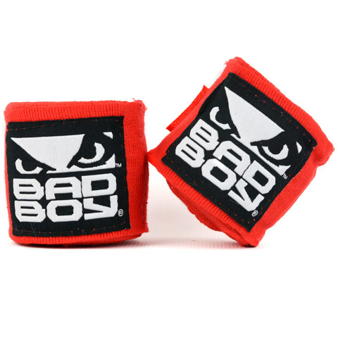 Бинты Bad Boy Combat Hand Wraps 3.5 м Red