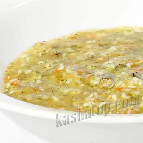 Суп перловый с мясом 'Леовит', 40г. 1 порция