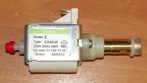 Насос помпа ULKA EX4GW 48W (EX4), для кофемашин с капсулой