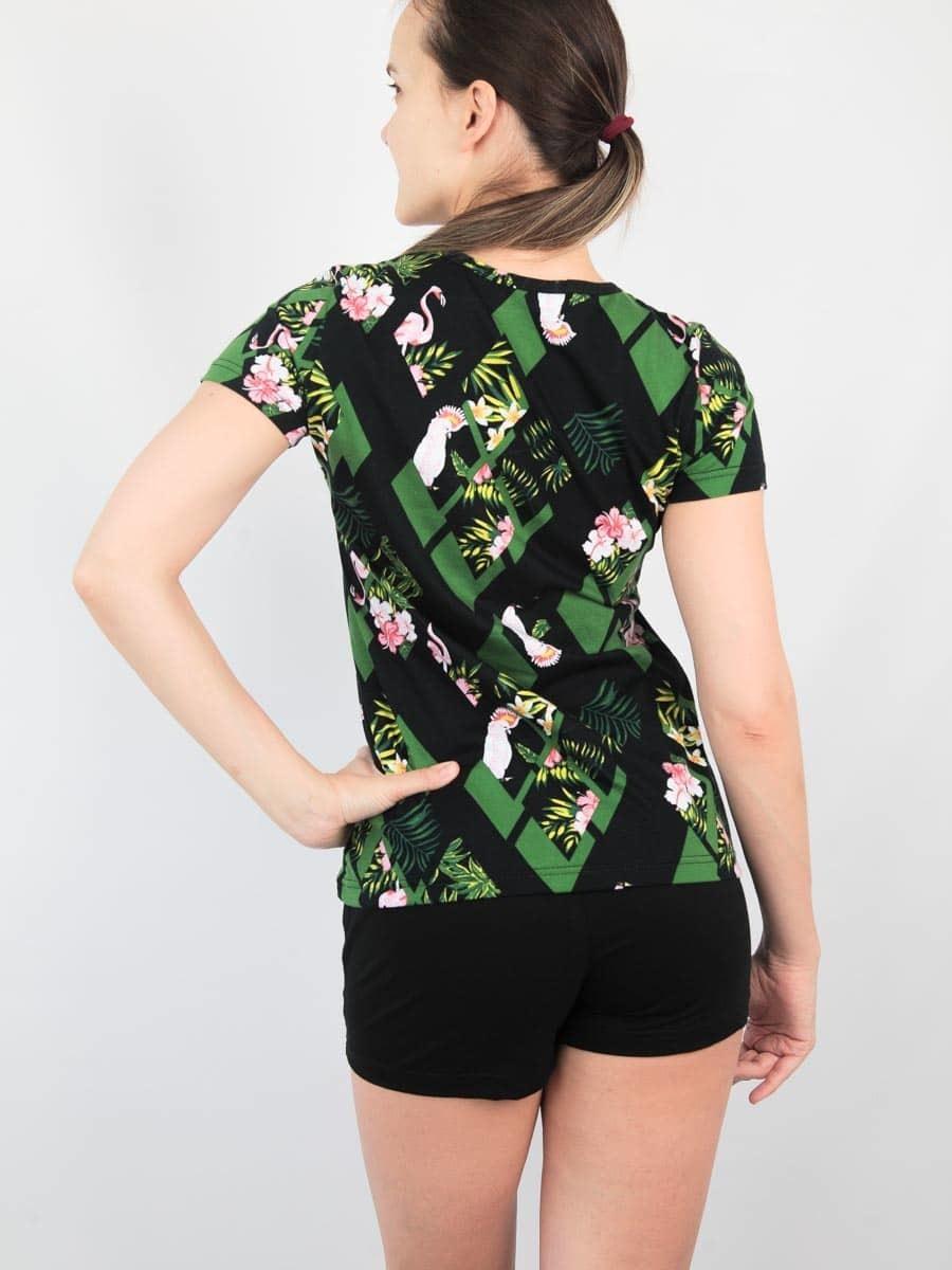 HomeStyle Комплект женский футболка+шорты