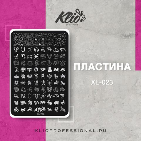 ПЛАСТИНА ДЛЯ СТЕМПИНГА KLIO PROFESSIONAL XL-023