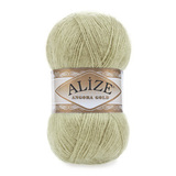 Пряжа Alize Angora Gold 267 оливковый