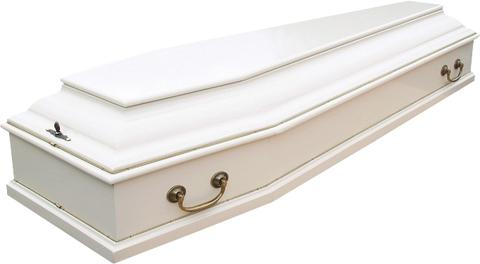 Гроб лакированный Б-6