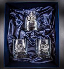Подарочный набор стаканов для виски «Российский стандарт», фото 4