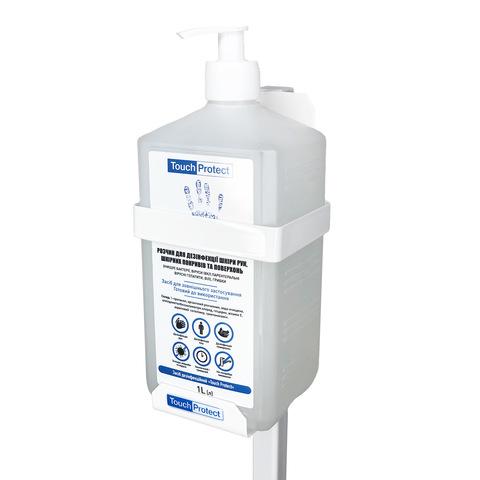 Напольная стойка-держатель для антисептического средства Touch Protect 1 l (4)