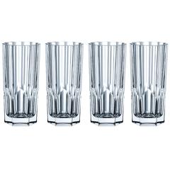 Набор из 4 высоких хрустальных стаканов Aspen, 309 мл, фото 2