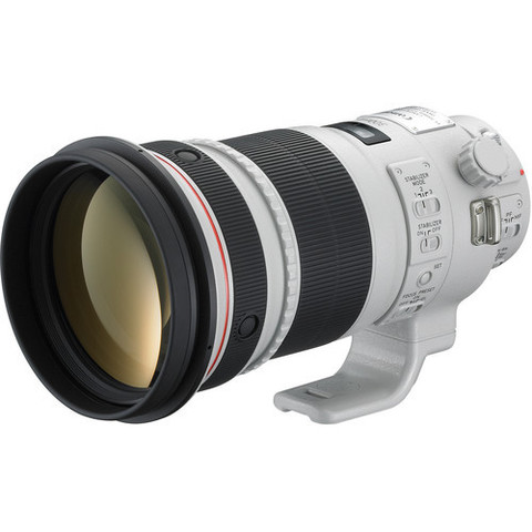 Объектив Canon EF 300mm f/2.8L II IS USM White для Canon