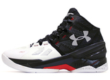 Кроссовки Мужские Under Armour Curry Two Black White Red