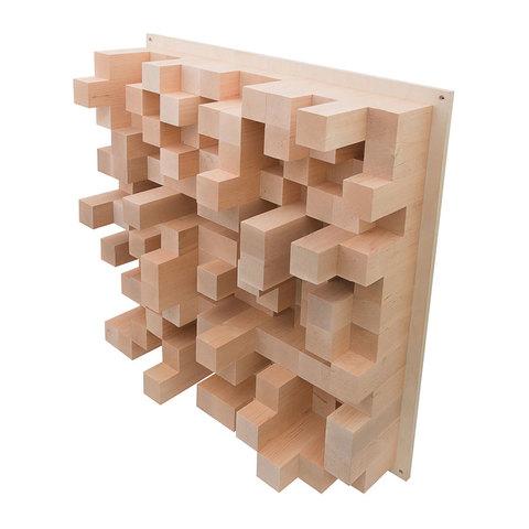 Акустический деревянный диффузор Echoton Pixels 500-3300 Hz