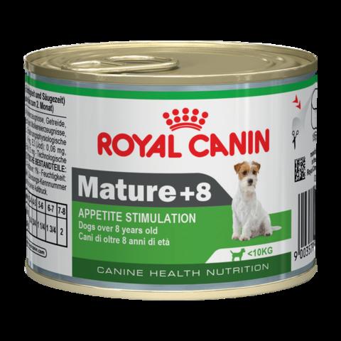 Royal Canin Mature 8+ Mousse Консервы для пожилых собак 8-12 лет, Мусс