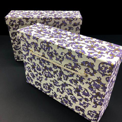 Коробка с ручками Косметичка Флорентийский фиолетовый