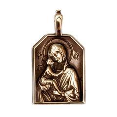 Богородица Донская кулон