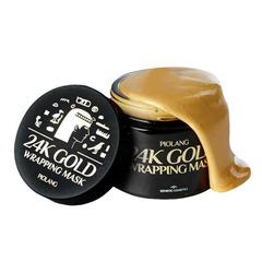 Esthetic House Piolang 24K Gold Wrapping Mask - Маска-плёнка для лица с 24 каратным золотом