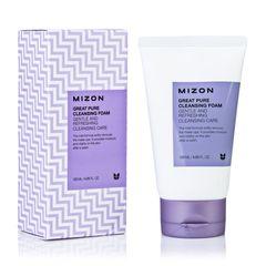 Скрабирующая пенка для очищения кожи лица MIZON Great Pure Cleansing Foam