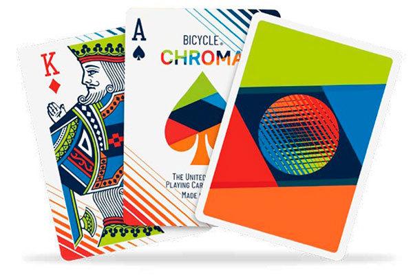 Карты Bicycle Chroma