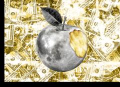 """Постер """"Золотое яблоко"""""""