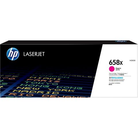 Картридж HP 658X пурпурный увеличенной ёмкости (W2003X)