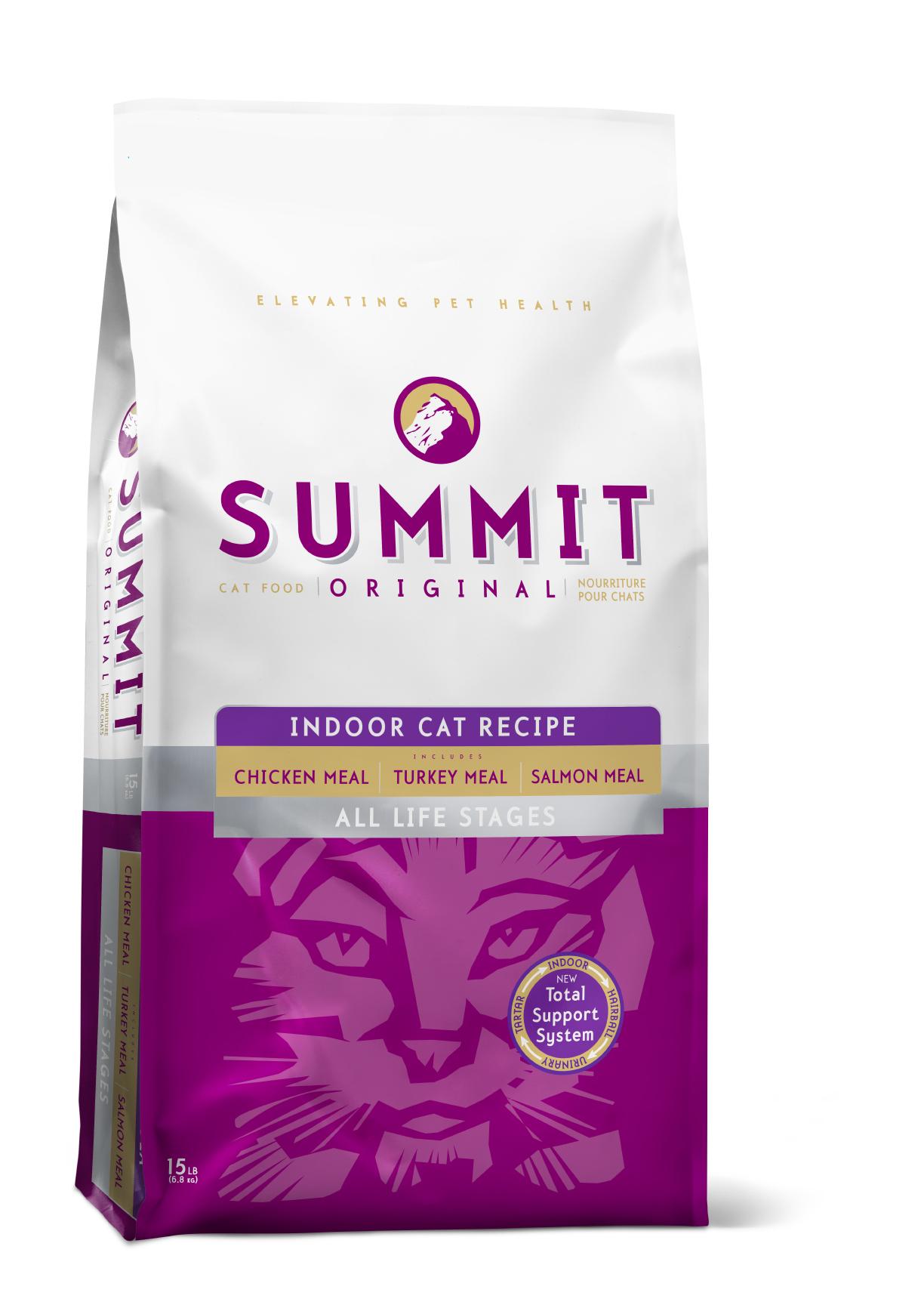 SUMMIT Корм для котят и кошек SUMMIT HOLISTIC три вида мяса с цыпленком, лососем и индейкой 2700_23.jpg
