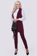 Классический жилет с ультра модными клапанами - атрибут сдержанного офисного стиля. Модель отлично сочетается с простыми футболками, майками, джинсами. Свежий взгляд на классику !!! (Длина 77 см)
