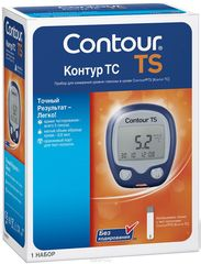 Глюкометр Контур ТС (Contour TS, Bayer)