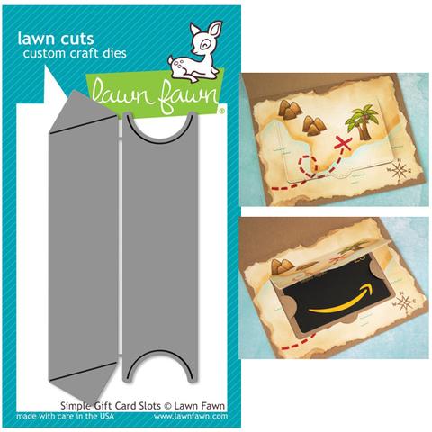 Ножи   для вырубки- Simple Gift Card Slots