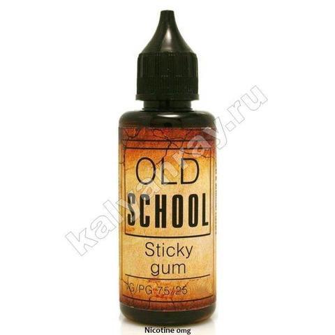 Жидкость OLD SCHOOL - Sticky Gum 0% никотина