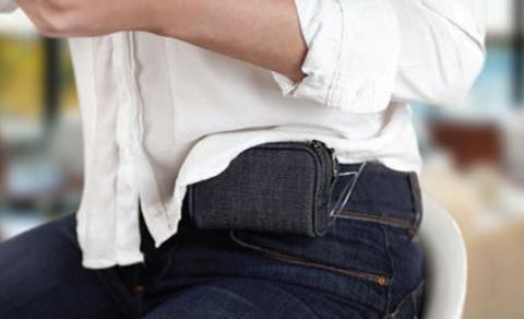 Чехол для инсулиновой помпы джинсовый АСС-260