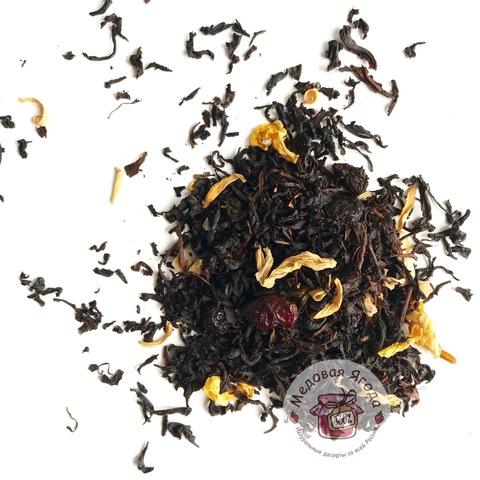 Мишки Гамми. Чёрный чай.
