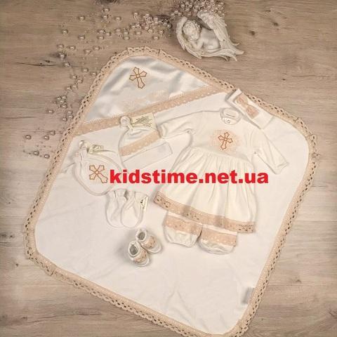 Крестильный набор для девочки Чарівний янгол-2