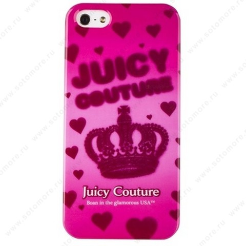 Накладка Juicy Couture для iPhone SE/ 5s/ 5C/ 5 вид 3