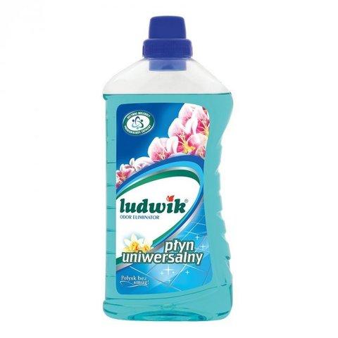 Ludwik универсальное моющее средство цветок лагуны с нейтрализатором неприятных запахов 1 л