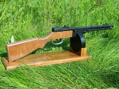 WW2 PPSh-41 wood stand