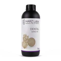 Фотография — Фотополимер HARZ Labs Dental Sand (A3), бежевый (1000 гр)
