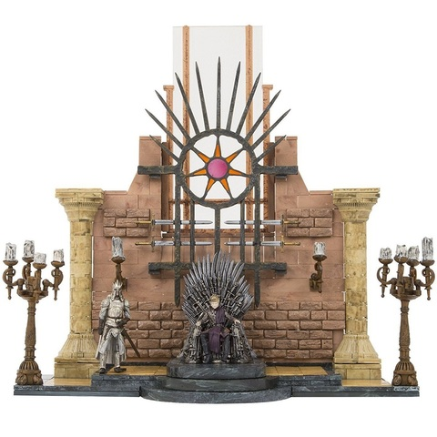 Железный трон - конструктор с тронным залом. Игра Престолов