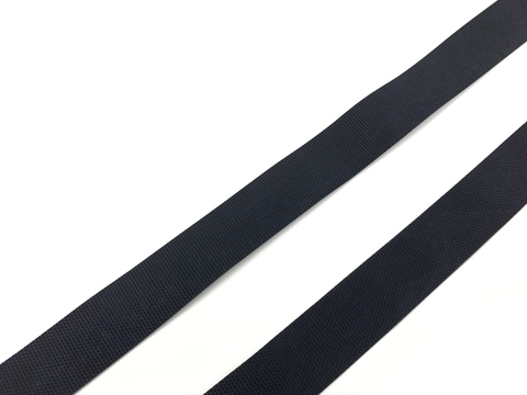 Резинка латексная для купальника черная 15 мм