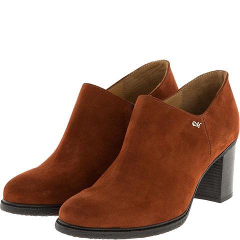 637309 Ботинки женские замша терракот. КупиРазмер — обувь больших размеров марки Делфино